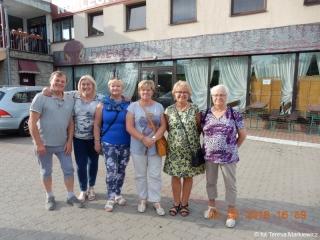03-06.06.2018 r. Grupa słuchaczu OUTW w drodze do Petersburga zwiedziła  Augustów a następnie Talin .
