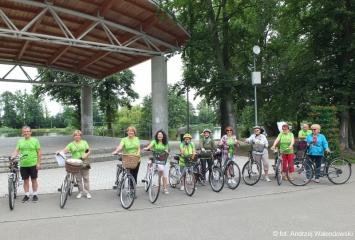 03.07.2020 r. Pomimo wakacji sekcja rowerowa nadal działa.