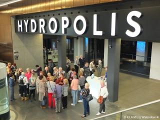 04.04.2017 r. Kolejnym miejscem, które zwiedziliśmy był Hydropolis we Wrocławiu ultranowoczesne centrum wiedzy o wodzie, które jest jedynym takim obiektem w Polsce i jednym z nielicznych na świecie.
