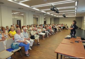 05.06.2019 r. Odbyła się  - Debata nad bezpieczeństwem oleśnickich seniorów , prowadzona przez przedstawicieli Komendy Powiatowej Policji w Oleśnicy.