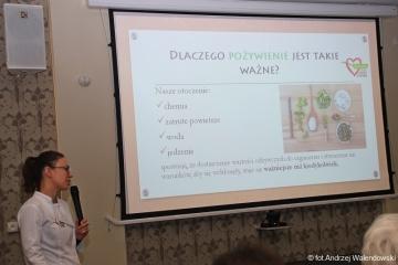 07.02.2018 r. Wykład J. Gębczak na temat: Cukrzyca i tarczyca.