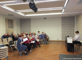 07.03.2019 r. Zajęcia w sekcji - Chór.