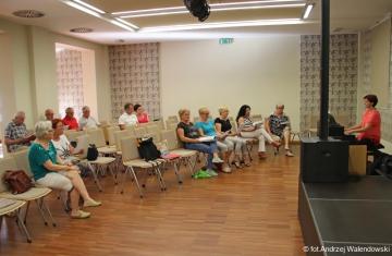 07.06.2018 r. Spotkanie miłośników sekcji piosenki biesiadnej.