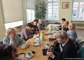 07.11.2018 r. Sekcja Klubu Miłośników Książki na kolejnym spotkaniu.