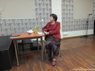 07.2018 r. Wykład Jadwigi Jasińskiej -  Przemijanie w sztuce.