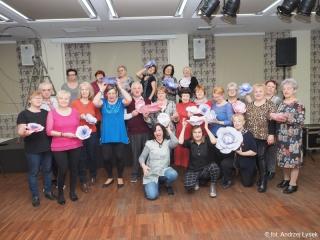 10.03.2020 r. Grupa choreograficzna świętowała Dzień Kobiet, na które zaproszono kolegę Andrzeja Łyska, aby uwiecznił to wydarzenie - wszyscy świetnie się bawili.