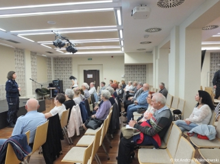 11.10.2018 r. Sekcja regionalna wysłuchała wykłady między innymi: przedstawiciela straży pożarnej, policji .