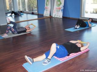 13.02.2020 r. Zajęcia w sekcji gimnastyki odbyły się mimo ferii zimowych.