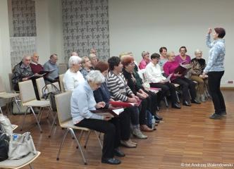15.11.2018 r. Zajęcia w sekcji chóru prowadzonej przez Iwonę Wróbel.j