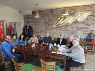 16.01.2019 r. W pizzerii PEPE spotkali się miłośnicy sekcji Nordic Walking OUTW na którym omówiono dalszy plan treningów i terminy zawodów.