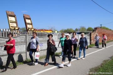 19.04.2018 r. Grupa sympatyków sekcji regionalnej wybrała się na spacer ulicami Oleśnicy.