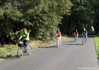20.09.2018 r. Wytrwali sympatycy sekcji rowerowej na trasie okolic  Oleśnicy.