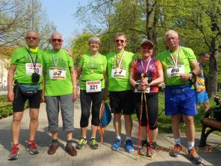 21.04.2018 r . Grupa osób z OUTW uczestniczyła po raz kolejny w zawodach VII Otwartych  Mistrzostwach  Legnicy w Nordic Walking.   W tym roku uzyskali  czasy na tyle dobre że  zajęli od 4-go do 14-go miejsca.