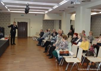 22.02.2018 r. Sekcja regionalna zorganizowała spotkanie z rzecznikiem burmistrza miasta p. Michałem Skrzypkiem gdzie tematem wiodącym była – promocja miasta.