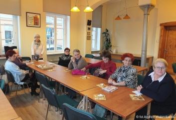 22.11.2017 r. Spotkanie sekcji kulinarnej, którą prowadzi Urszula Sikora.