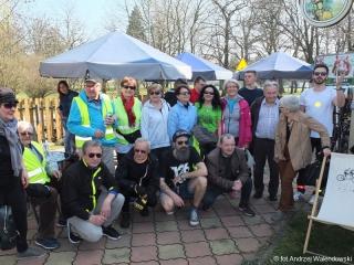 23.03.2019 r. Sekcja rowerowa pod opieką Wandy Gołdy razem z grupą Oleśnicką Bajk  Stajk  powitała wiosnę przejażdżką rowerową.
