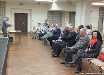 23.05.2019 r. Sekcja Regionalna zorganizowała spotkanie z Przewodniczącym  Rady Miasta Oleśnicy Aleksandrem  Chrzanowskim.