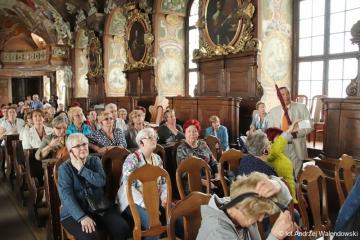 24.04.2018 r. II część zdjęć z wycieczki do Wrocławia - zwiedzanie kościoła parafialnego św. Antoniego, katedry Prawosławnej, Auli  Leopoldina oraz wieży matematycznej.