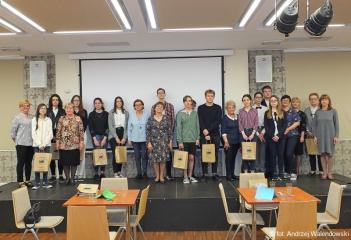 24.05.2019 r. W dniu dzisiejszym odbył się Quiz z młodzieżą  ze znajomości Pana Tadeusza, w którym brali udział słuchacze OUTW