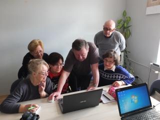 25.02.2017 r. Kolejne spotkanie sekcji komputerowej.