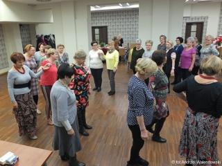 27.11.2018 r. Sekcja taneczna  zorganizowała  zajęcia taneczne  oraz zabawę taneczną.