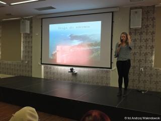 28.11.2018 r. Wykład Małgorzaty Styburskiej na temat Psychoonkologii.
