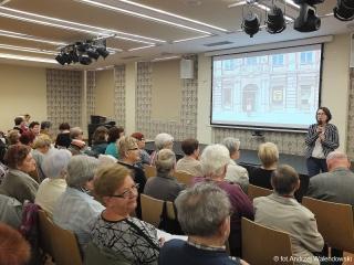29.03.2017 r. Wykład Moniki Bronowickiej z Muzeum Pana Tadeusza we Wrocławiu.