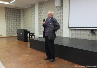 29.05.2019 r. Wykład Dr hab. Bogusława Bednarka na temat: Pan Tadeusz  - Adama Mickiewicza.