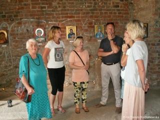 3-4.06.2017 r. Została zorganizowana wystawa ikon w nawie kościoła Św.Jerzego. Na wystawie zostały pokazane ikony wykonane przez członków Sekcji Plastycznej UTW, na zajęciach prowadzonych przez Anitę Tomalę-Najmrodzką.