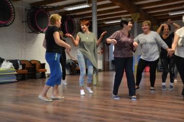 31.10.2017 r. Sekcja taneczna prowadzona przez Dorotę Kamecką.